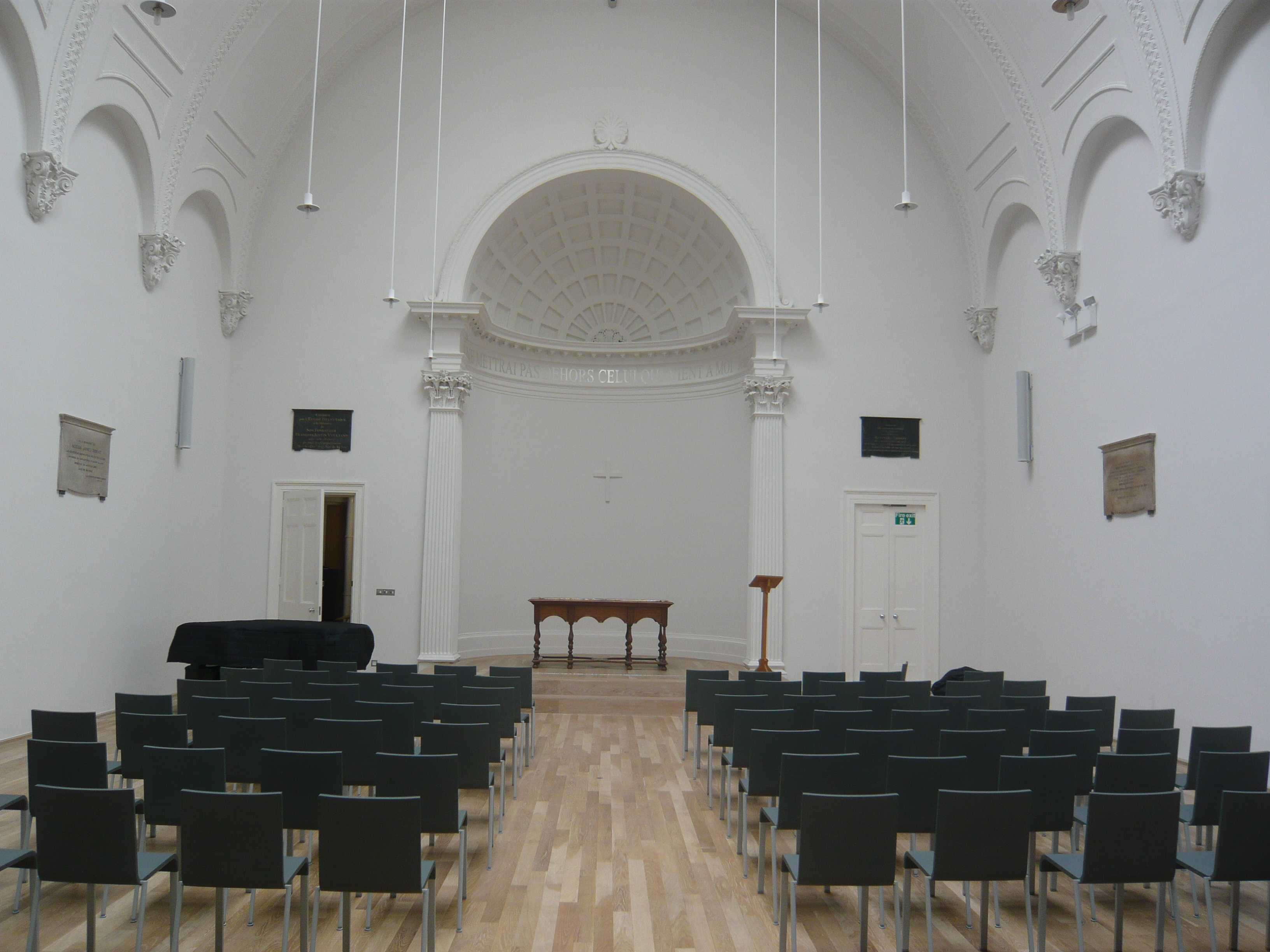 Swiss Church London Whitworth